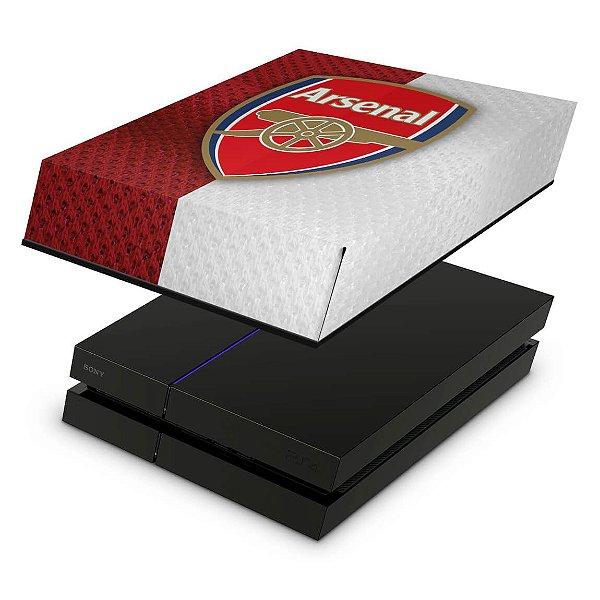 PS4 Fat Capa Anti Poeira - Arsenal