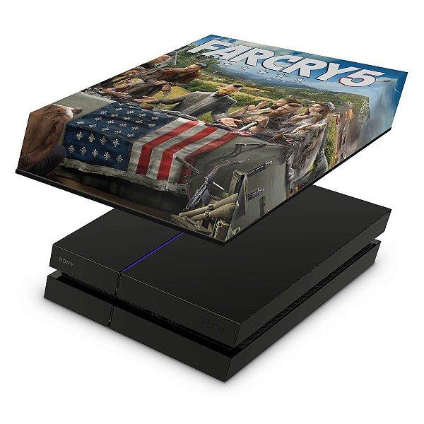 PS4 Fat Capa Anti Poeira - Far Cry 5