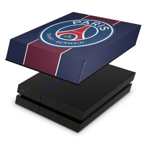 PS4 Fat Capa Anti Poeira - Paris Saint Germain Neymar Jr Psg