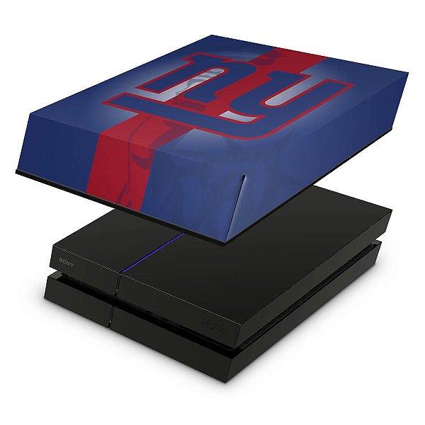PS4 Fat Capa Anti Poeira - New York Giants - Nfl