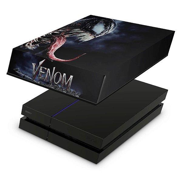 PS4 Fat Capa Anti Poeira - Venom