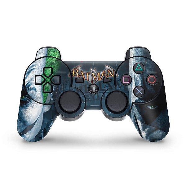 PS3 Controle Skin - Batman Arkham