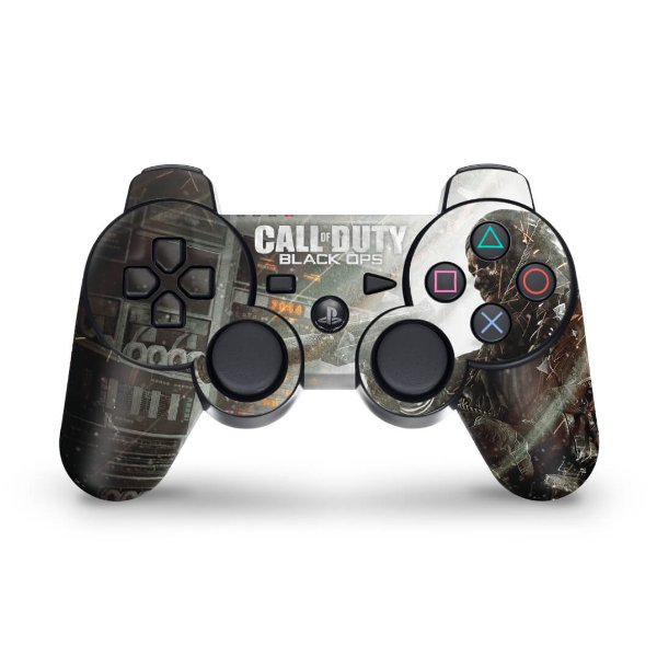 PS3 Controle Skin - Call O Duty Black Ops