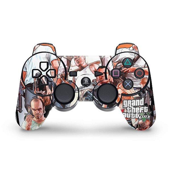 PS3 Controle Skin - Gta V 5