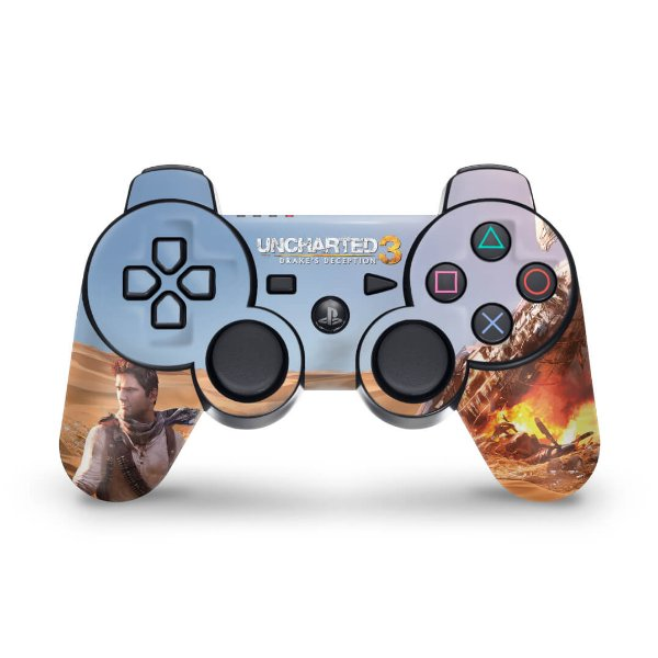 PS3 Controle Skin - Uncharted 3