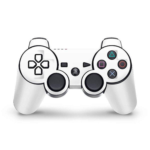 PS3 Controle Skin - Branco