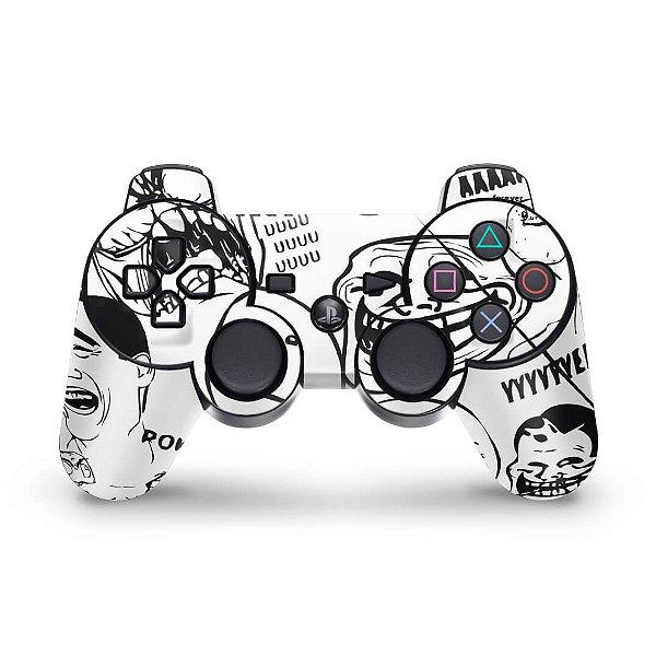 PS3 Controle Skin - Memes