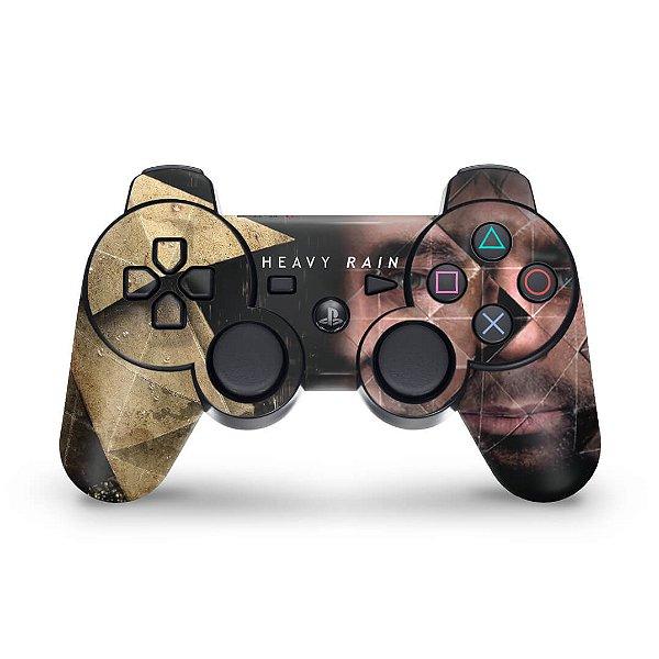 PS3 Controle Skin - Heavy Rain