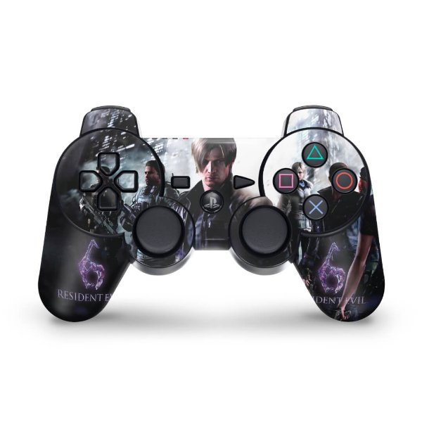 PS3 Controle Skin - Resident Evil 6