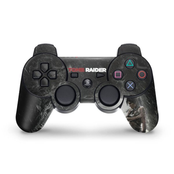 PS3 Controle Skin - Tomb Raider 3