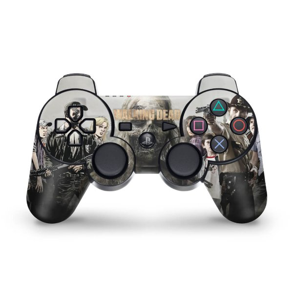 PS3 Controle Skin - The Walking Dead #1
