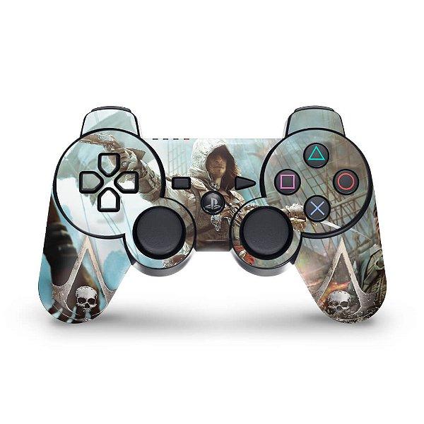 PS3 Controle Skin - Assassins Creed IV Black Flag
