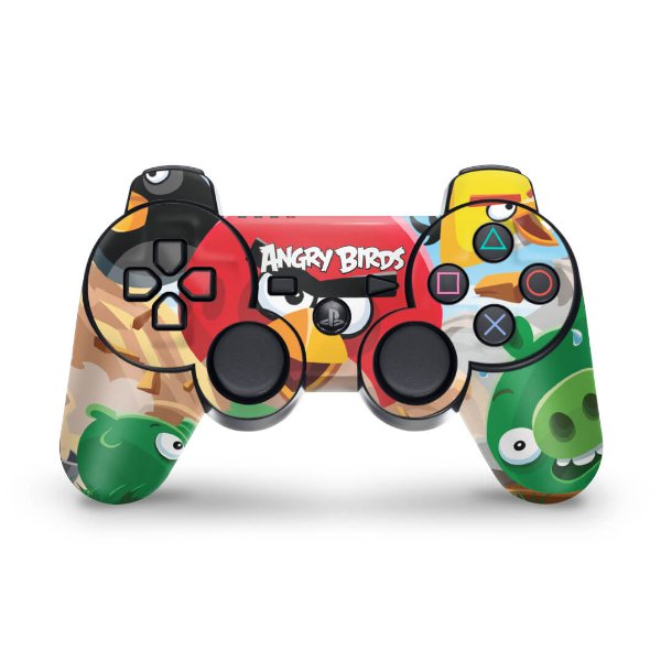PS3 Controle Skin - Angry Birds