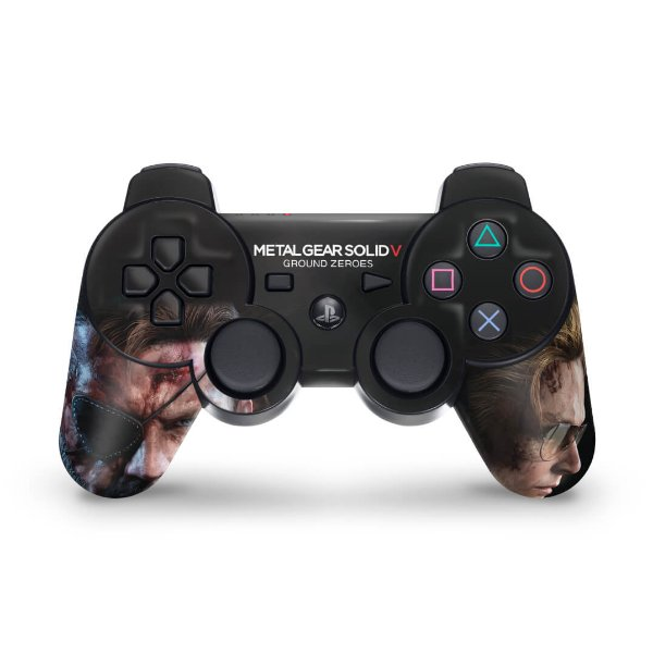 PS3 Controle Skin - Metal Gear Solid V