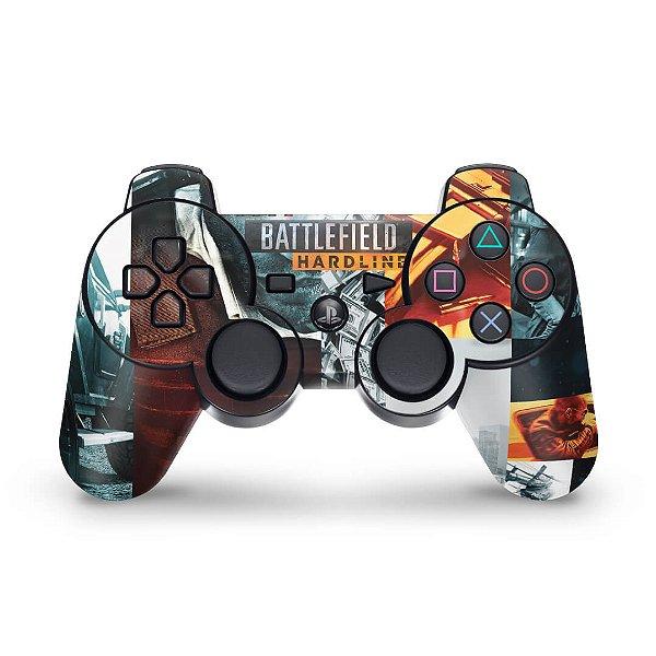 PS3 Controle Skin - Battlefield Hardline