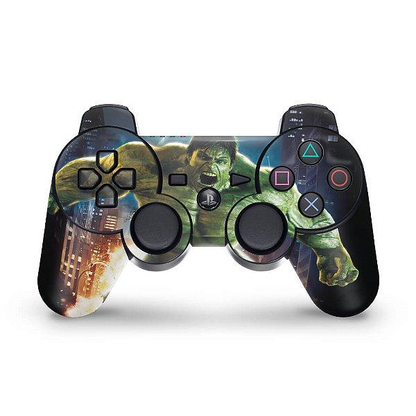 PS3 Controle Skin - Hulk
