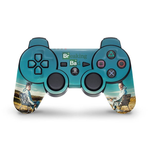 PS3 Controle Skin - Breaking Bad