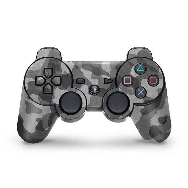PS3 Controle Skin - Camuflado