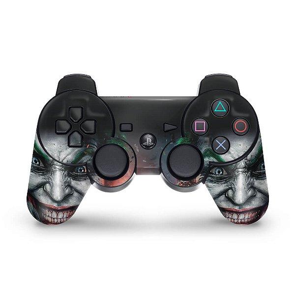 PS3 Controle Skin - Coringa Joker