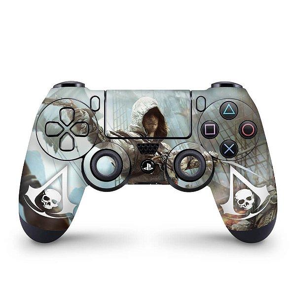 Skin PS4 Controle - Assassins Creed Black Flag