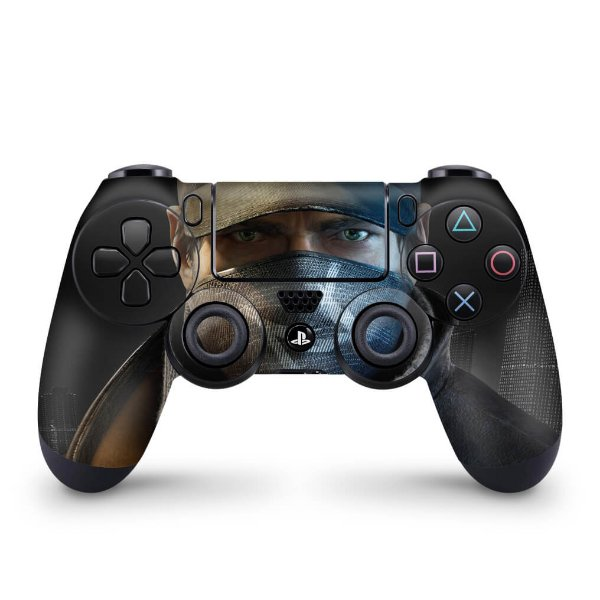 Skin PS4 Controle - Watch Dogs