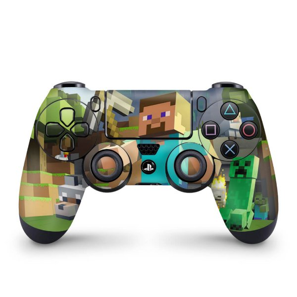 Skin PS4 Controle - Minecraft