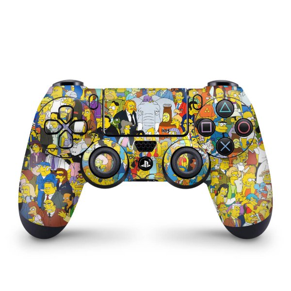 Skin PS4 Controle - The Simpsons