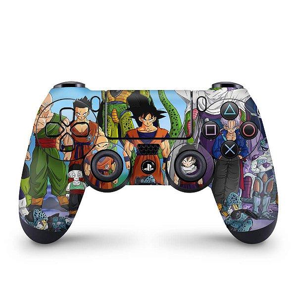Skin PS4 Controle - Dragon Ball Z #A