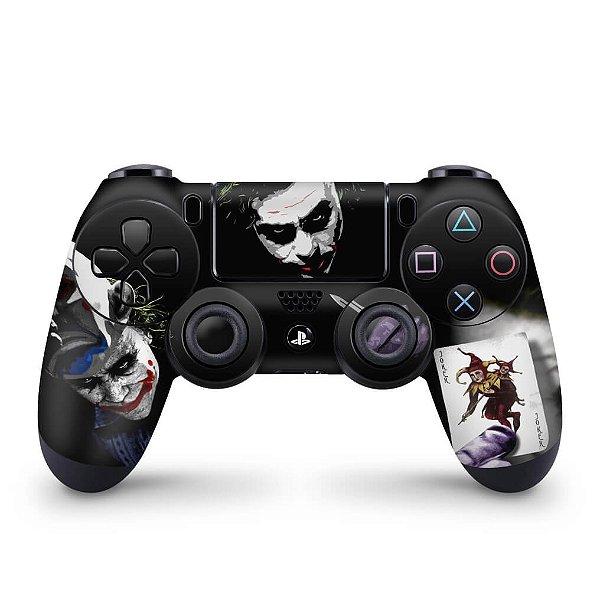 Skin PS4 Controle - Coringa Joker #A