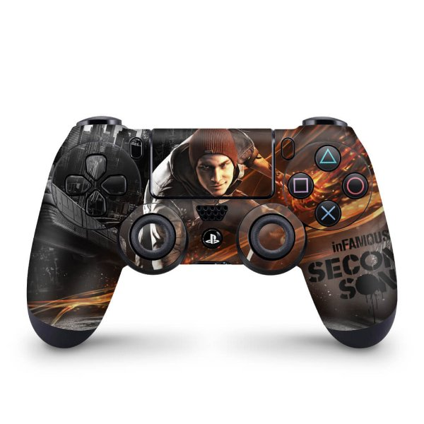Skin PS4 Controle - Infamous