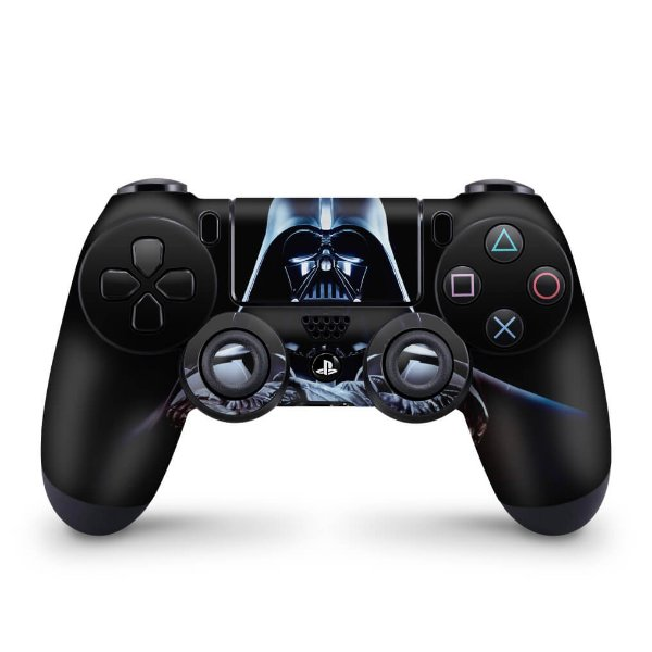 Skin PS4 Controle - Star Wars - Darth Vader