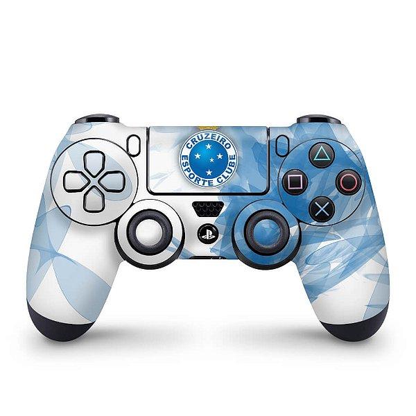 Skin PS4 Controle - Cruzeiro