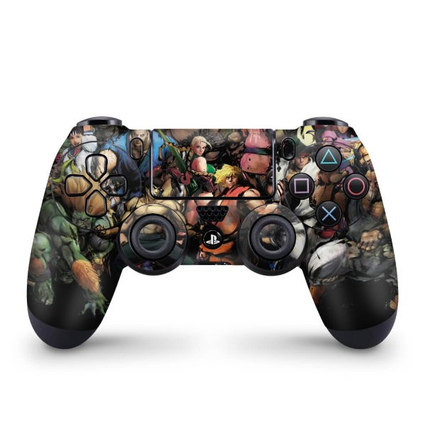 Skin PS4 Controle - Street Fighter