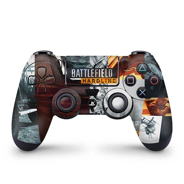 Skin PS4 Controle - Battlefield Hardline