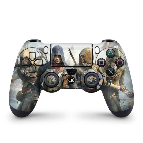 Skin PS4 Controle - Assassins Creed Unity