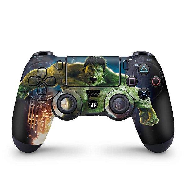 Skin PS4 Controle - Hulk