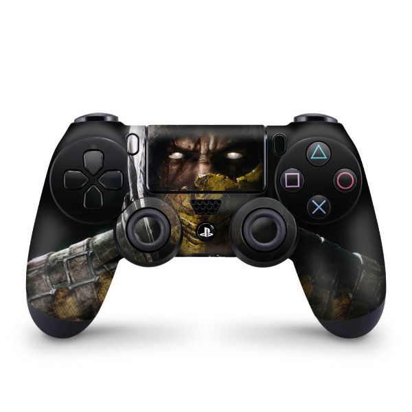 Skin PS4 Controle - Mortal Kombat X