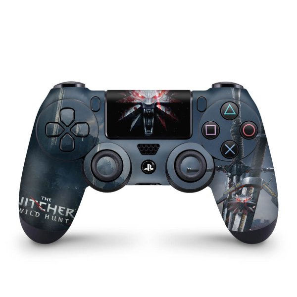 Skin PS4 Controle - The Witcher #A