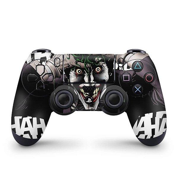 Skin PS4 Controle - Joker Coringa Batman