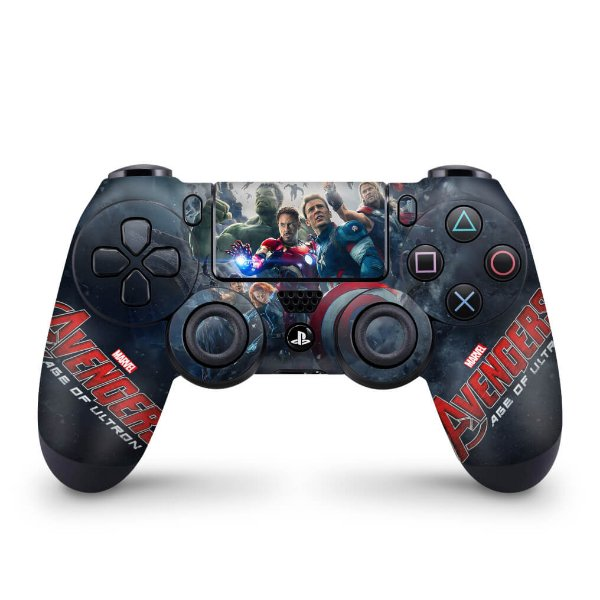 Skin PS4 Controle - Avengers - Age of Ultron