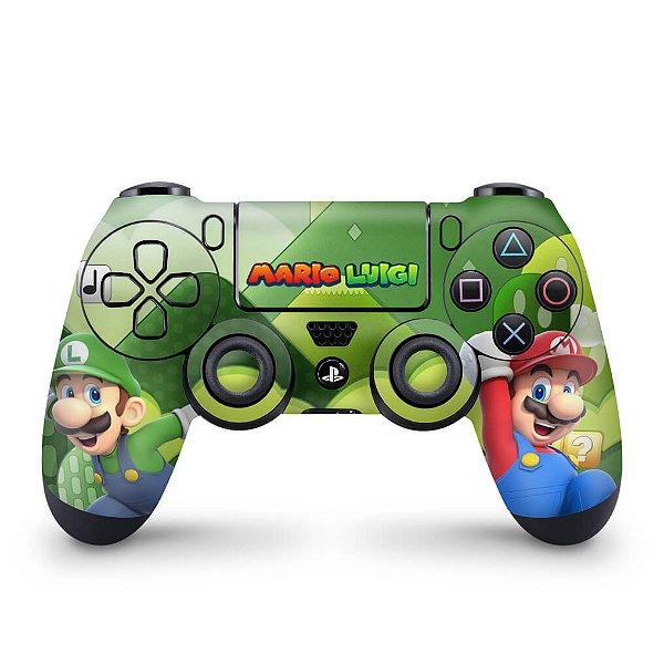 Skin PS4 Controle - Super Mario Bros