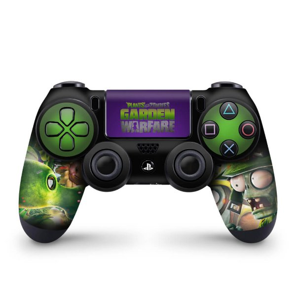 Skin PS4 Controle - Plants Vs Zombies Garden Warfare