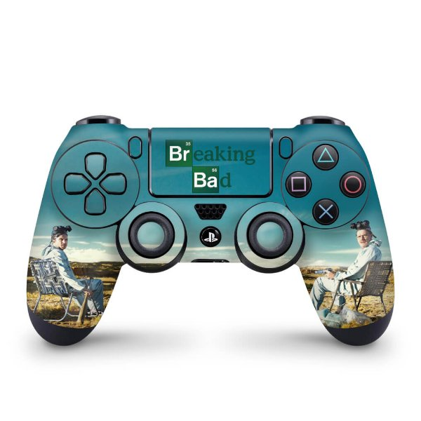 Skin PS4 Controle - Breaking Bad