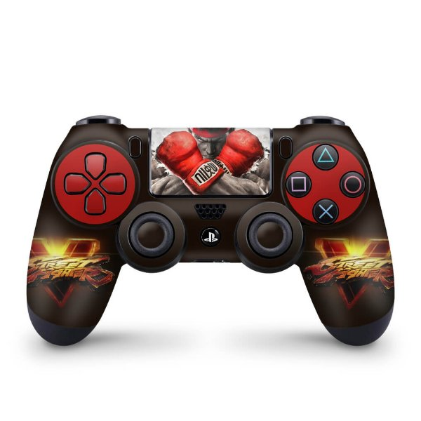 Skin PS4 Controle - Street Fighter V