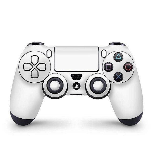 Skin PS4 Controle - Branco