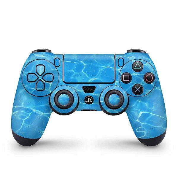 Skin PS4 Controle - Aquático Água