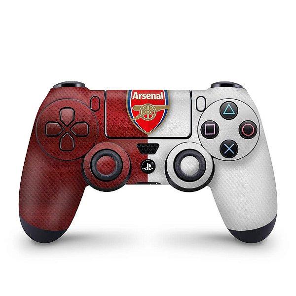 Skin PS4 Controle - Arsenal