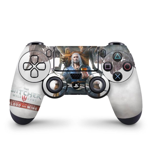 Skin PS4 Controle - The Witcher 3: Wild Hunt - Blood and Wine