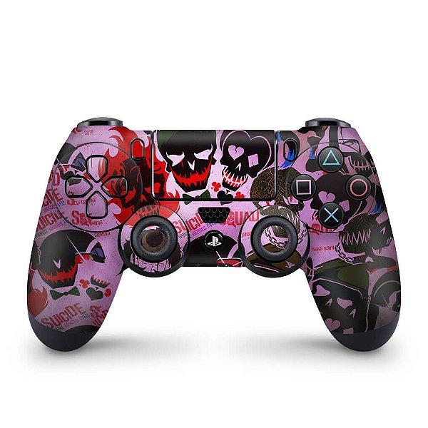 Skin PS4 Controle - Esquadrão Suicida #C