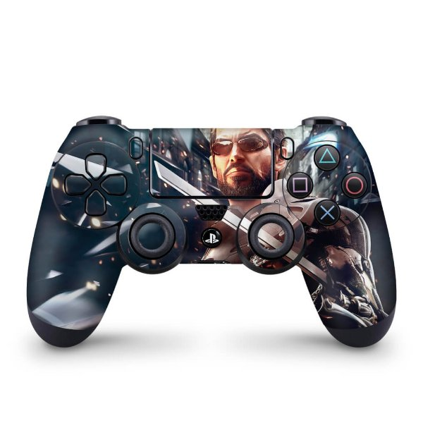 Skin PS4 Controle - Deus Ex: Mankind Divided